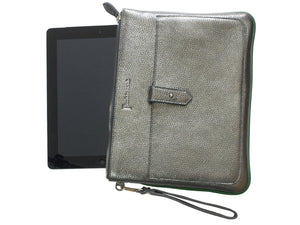 Padded leather tablet or Ipad cover