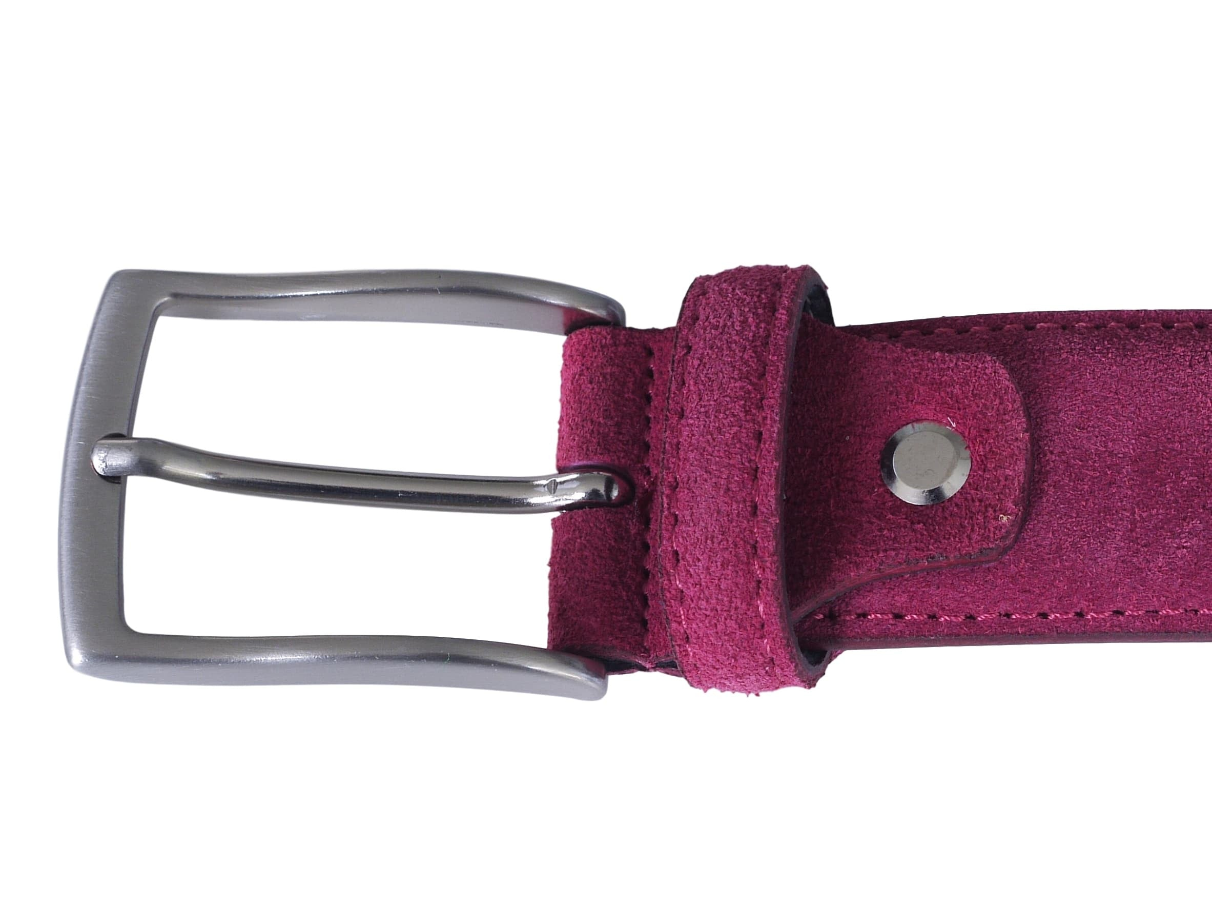 raspberry pink belt buckle