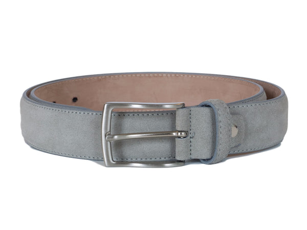 Light Grey Suede belt