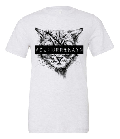 #DJ Hurrakayn in White and Black - One Eyed Cat