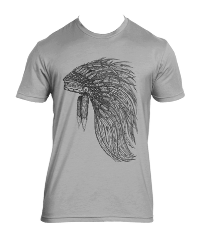 Men's Chieftain Grey - your inner Native American hipster