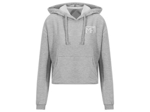 Open image in slideshow, Studio Cropped Hoodie