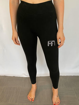Leggings - Black Muscle Fit Nation