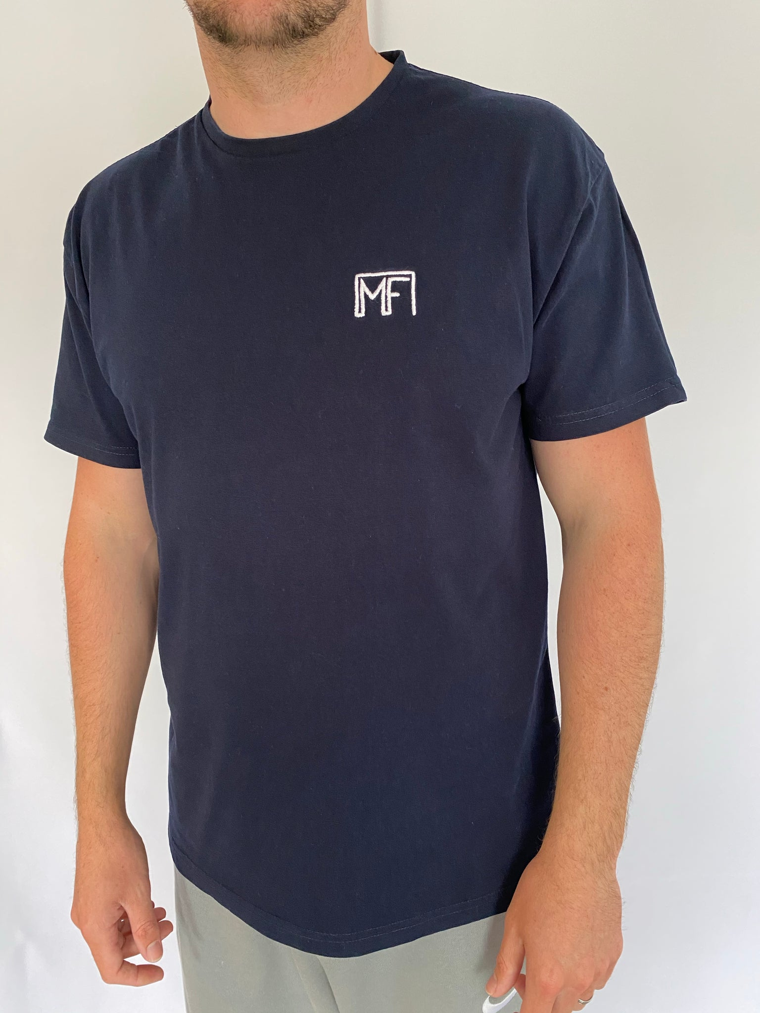 Muscle Fit Nation Standard T - Navy