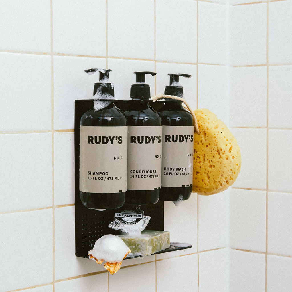 The complete 1 2 3 bundle on your shower