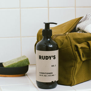 Rudy's Barbershop No. 2 Conditioner in your shower