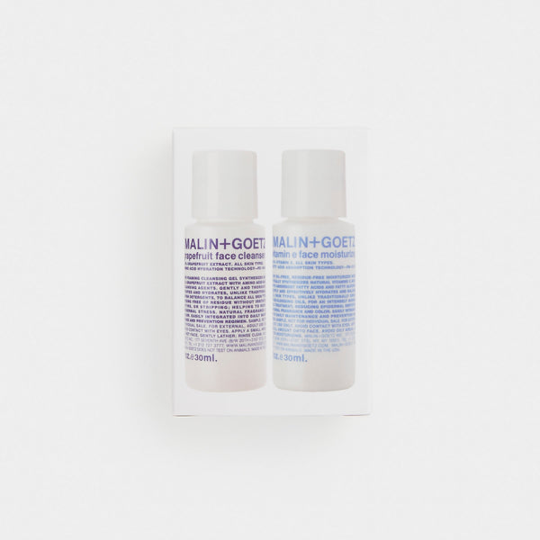 Malin + Goetz Face Essentials Duo Set
