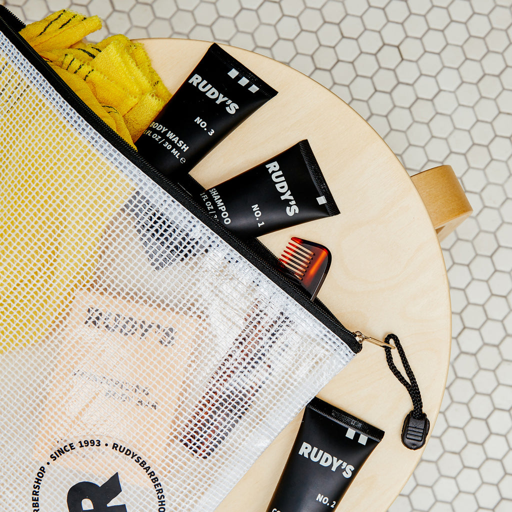 Rudy's Travel No. 1 Shampoo bag