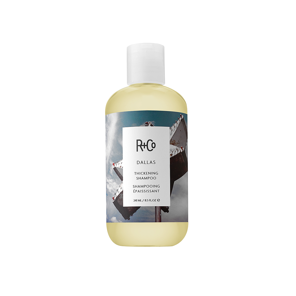 Image of Dallas Thickening Shampoo on white background