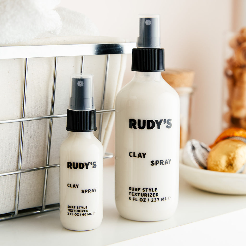 Rudy's Barbershop Travel Clay Spray