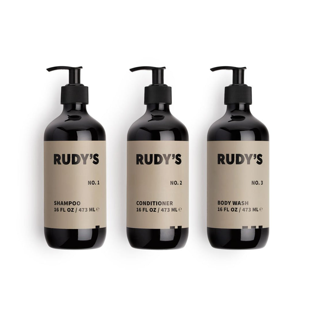 Shampoo, Conditioner and Body Wash