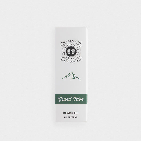 The Roosevelts Beard Company Grand Teton Beard Oil