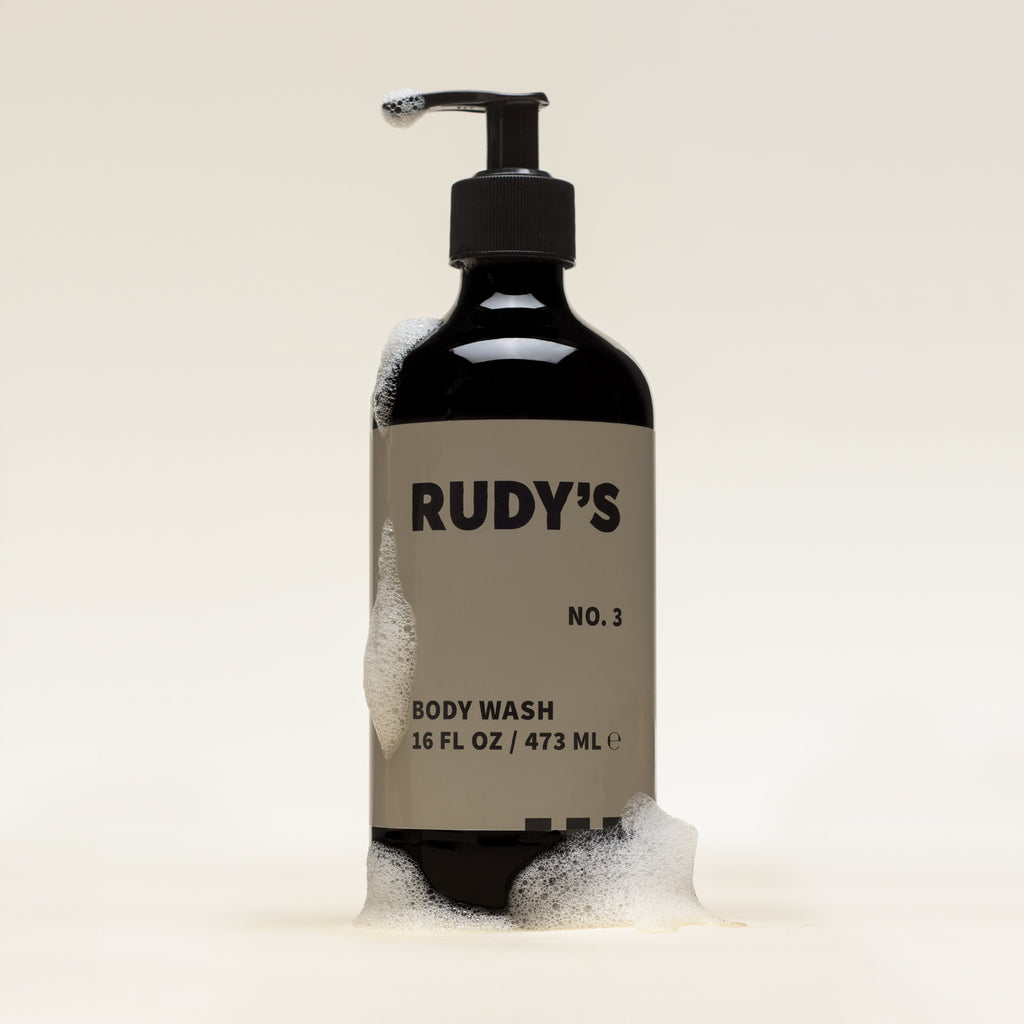 Rudy's Barbershop No. 3 Body Wash