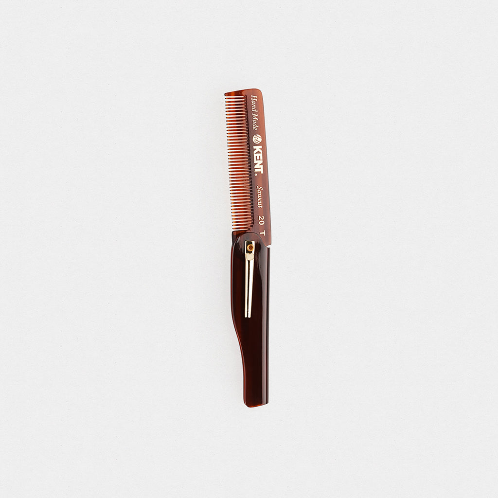 Kent Gentleman's Folding Pocket Comb