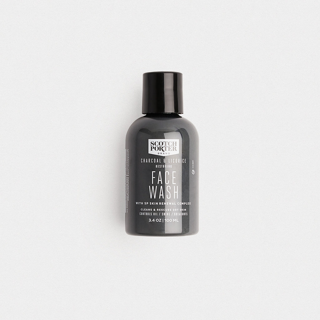 Scotch Porter Charcoal and Licorice Face Wash