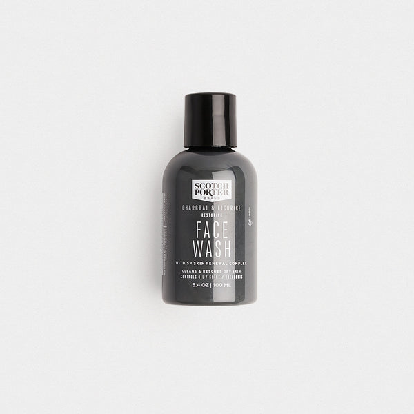 Charcoal and Licorice Face Wash
