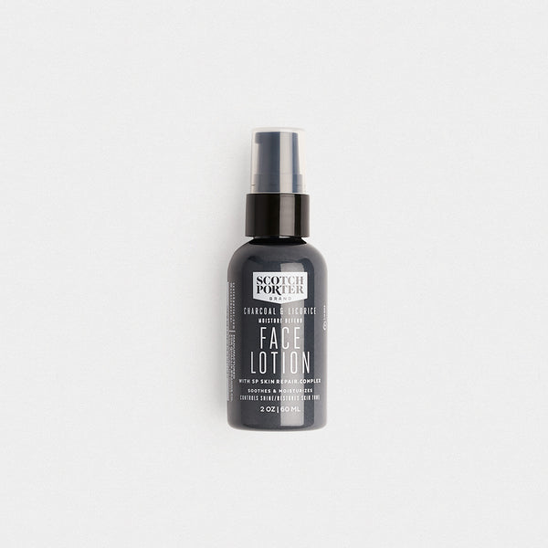 Scotch Porter Charcoal and Licorice Face Lotion