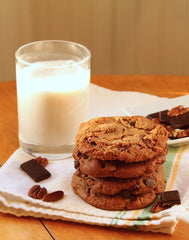 gourmet paleo cookies with almond milk