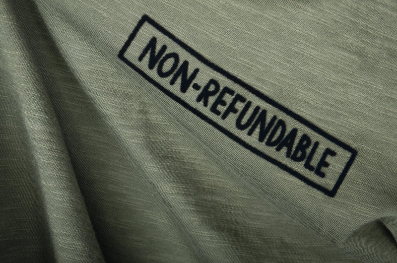 Non Refundable