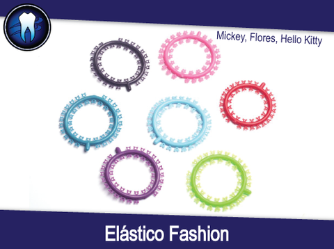 Elástico Fashion (Flores, Mickey, Hello Kitty)