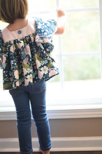Cyber Monday - Poppy Bloom Top