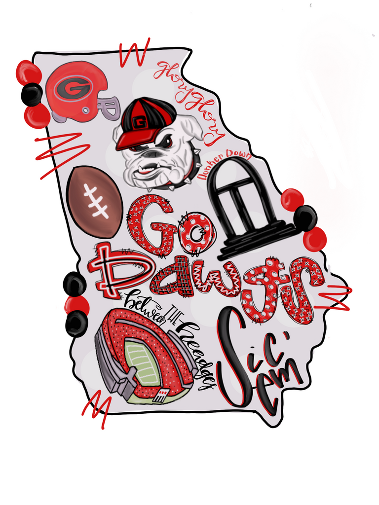 Go Dawgs  - T-Shirt