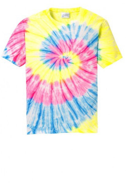 Tie-Dye Youth for Shirt monogrammed