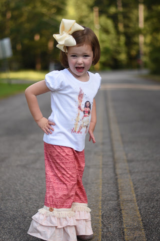 Moana Birdie Pants 6m to 2t - RTS