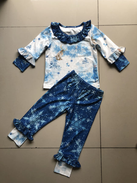 Frozen Lounge -  Girls Pants set