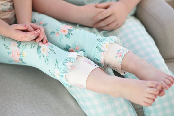 Bunny Blooms Lounge - Top/pants set