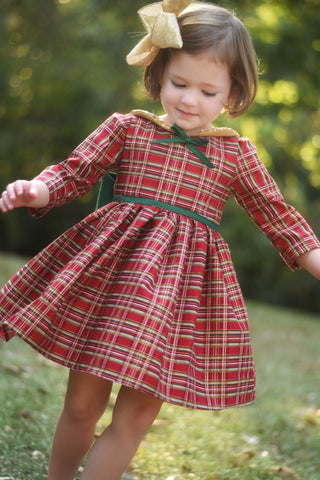 Emmaline Plaid Dres READY TO SHIP