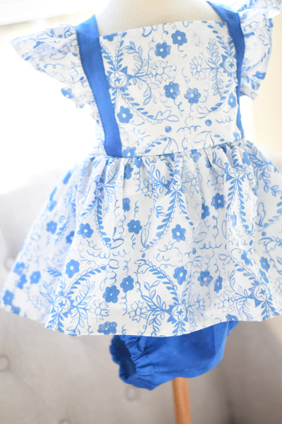 OOAK Skirted Romper Size 6 #11