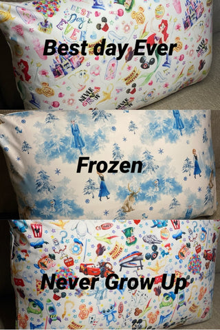 Disney Print Pillow Cases - RTS