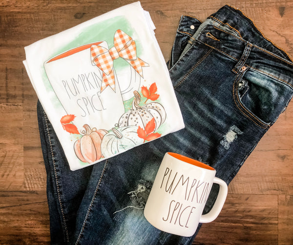 Pumpkin Spice Mug - Adult T shirt