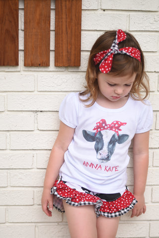 Mooooo - Girls - T-Shirt