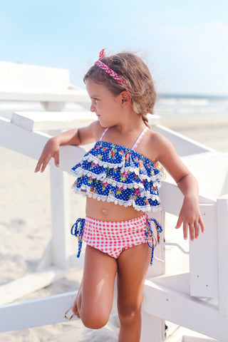 {Red, White and Blue} - Bikini set