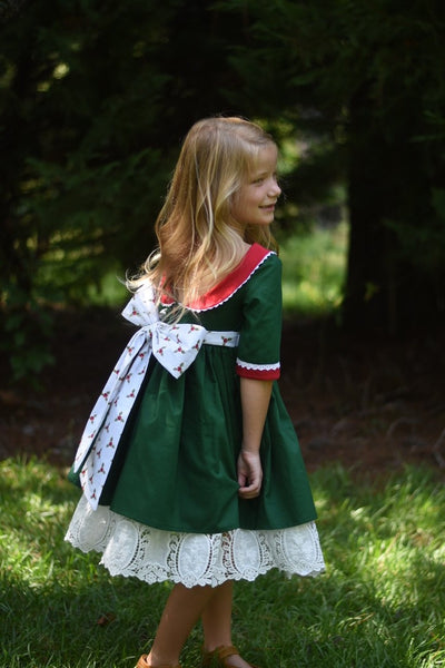 Christmas Hope RTS - Emmaline Dress