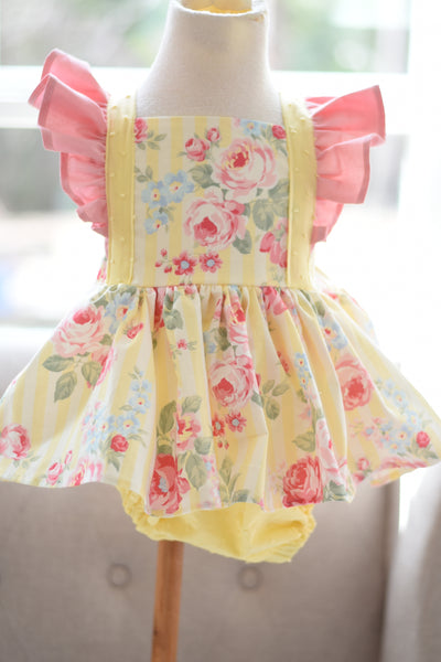 OOAK Skirted Romper Size 2t #1