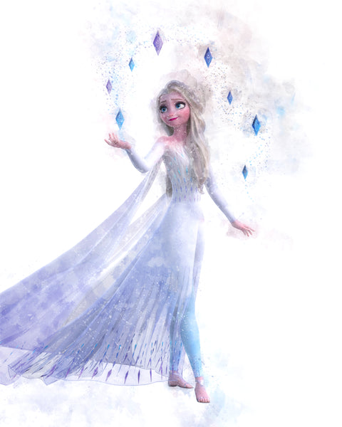 Frozen 2 - Ice Queen Elsa- T-Shirt