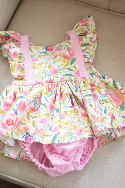 OOAK Skirted Romper Size 2t #2