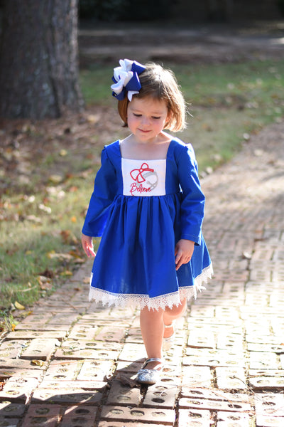 {Believe} Madison Long Sleeve Dress