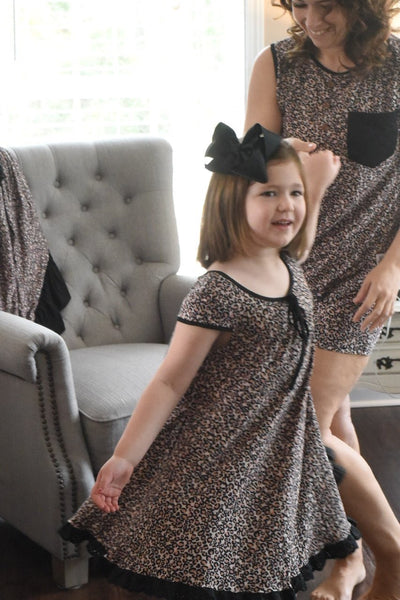 {Wild About You} Leopard Gigi Gown Set