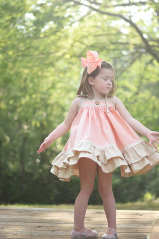 Georgia Peach Sofie Dress