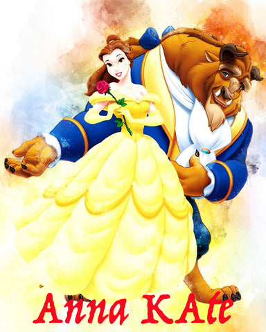 Beauty & Beast {Belle & Beast} - T-Shirt
