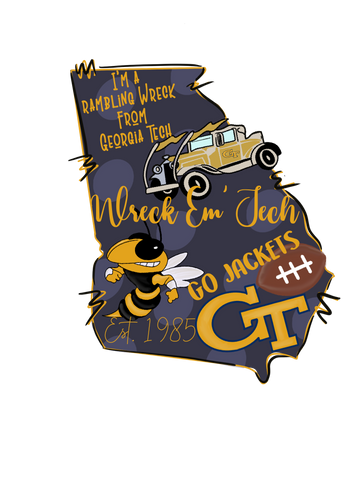 Georgia Tech   - T-Shirt