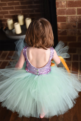Sequin Tutu dress spots