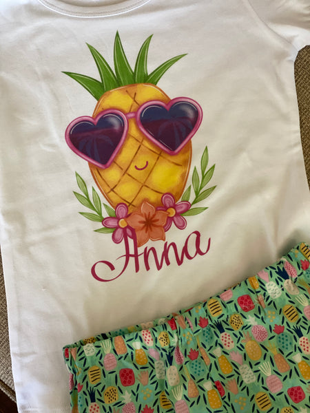 Sunglass Pineapple - T-shirt