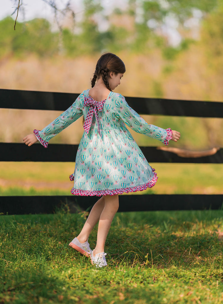 {Carried Away} Knit Dress Set 2t & 4t - RTS