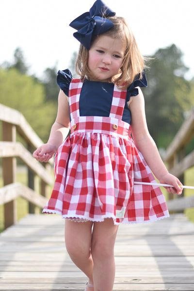 {American Dream} - Suspender Skirt