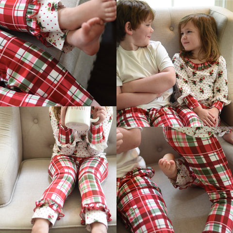 Christmas Lounge Pants sets - Girls Ready to ship